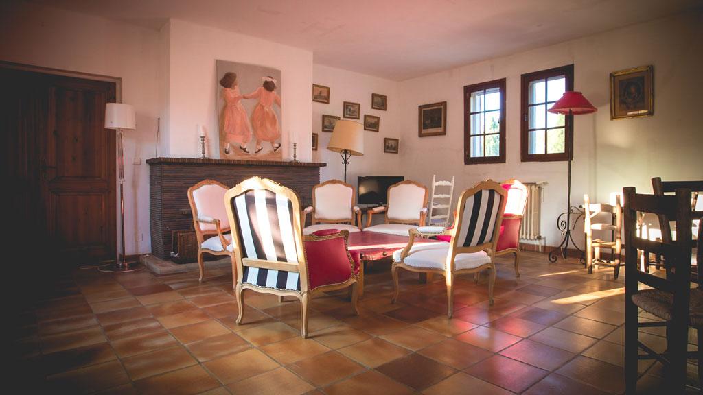 Salon of the Domaine d'Espeyran